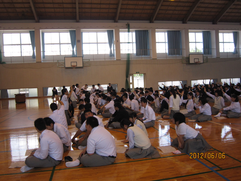 鹿児島県立福山高等学校生徒総会